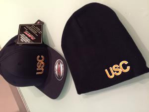 USC Lion Flexfit Cap and Beanie