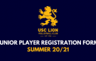 USC Lion Player Registration Form – Summer 20/21